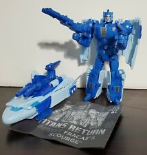 Transformers Titans Return Scourge lot, 1 is 100% other missing head, very nice