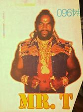 80s A-Team Mr.T Mr T He-Man gi joe motu B.A. Baracus Tv Show VTG t-shirt iron-on