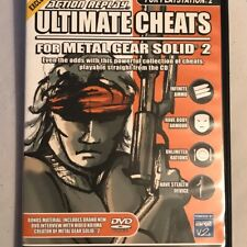 Action Replay Ultimate Cheats - Metal Gear Solid 2 - PS2 / Playstation 2