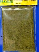 Manto erboso verde bruciato per plastico o diorama cm.30x15 -Krea Modellismo 406