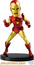 Iron Man - Classic Iron Man Head Knocker Bobble Head NEW IN BOX