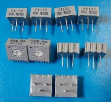 """BI 72PR100 3/8"""" Square Single Turn 100 Ohm Cermet Trimming POT, 10pcs"""