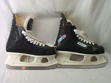 Bauer Pro 70 Black Ice Hockey Skates Youth Size Tongue Has A Stamp Dd I 4 96