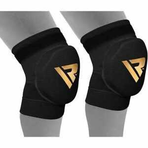 RDX Hosiery Padded Knee Brace, Black, Large