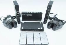 New Lot of 4 PACE 2012 HDMI CAT-5e/6 4x4 Matrix Switch Splitter Receiver NIB