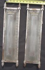 French Cubist Art Deco Matching Sconces - Physically Verifyable Genuine Antique