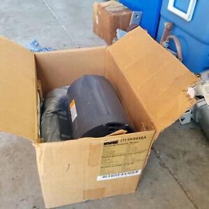 Dayton 6k844ba 1/2 HP FRAME 48 3450 RPM 1 PH 196104 NEW $199