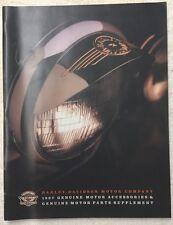 1997 HARLEY DAVIDSON GENUINE MOTOR ACCESSORIES & GENUINE MOTOR PARTS SUPPLEMENT