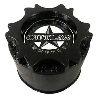American Outlaw Wheels Gloss Black Wheel Center Cap # BC-894 (1 CAP) NEW SNAP IN