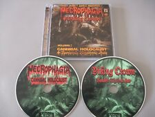 Necrophagia - Draped in Treachery (2 CD Set) Cannibal Holocaust & Viking Crown