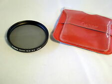 Canon Genuine 55mm N.D. 0.3 Lens Filter Made in U.S.A. In plastic sleeve 6106007