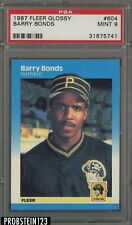 1987 Barry Bonds Fleer Glossy PSA 9 MINT RC Rookie