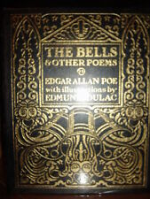 THE BELLS Easton Press EDGAR ALLEN POE FINE RARE