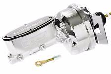 "64-66 Ford Mustang Polished Wilwood Master Cylinder Chrome 7"" Brake Booster"