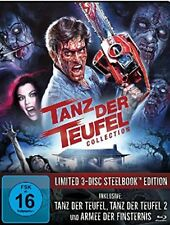 Steelbook Evil Dead sin Cortes Danza el Diablo 1 2 3 Armee Finsternis 3 Blu-Ray