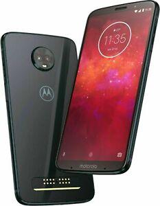 Motorola Moto Z3 XT1929-17 64Go USA Version Sans Contrat Téléphone Noir