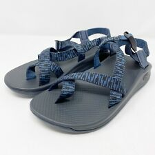 NEW $90 Chaco Mens Blue Z Eddy 2 Steeple Navy Sport Sandals Size 9