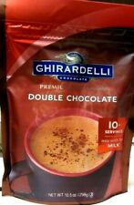 Ghirardelli Double Chocolate Premium Hot Cocoa Mix 10.5 oz.8/2020 BBD FREE S/H!