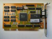 Tseng ET4000/W32 1MB rare vintage ISA video card, retro computing