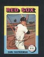 1975 Topps #280 Carl Yastrzemski NM/NM+ Red Sox 124300