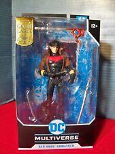 DC Multiverse Red Hood Unmasked McFarlane Gold Label MIB