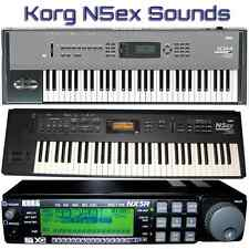 Korg N1, N1R, N5, N5EX, NS5R, NX5R, N264, N364 - Largest Sound Collection