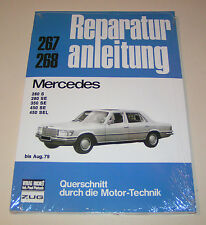 Reparaturanleitung Mercedes 280 S, 280 SE, 350 SE, 450 SE, 450 SEL - bis 1979!
