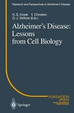 Research and Perspectives in Alzheimer's Disease Ser.: Alzheimer's Disease :...
