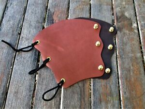 Hand Made  Leather Archery Arm Guard, Bracer