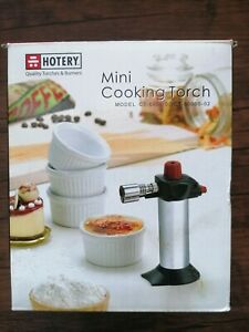 Hotery Mini Cooking Blow Torch Refillable