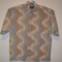 Basseri  Hawaiian-Style Men's Shirt Size L