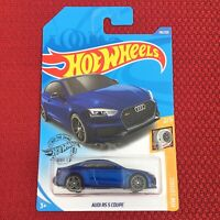 Hot Wheels AUDI RS5 COUPE BLUE Color HW Turbo Toy Car Mattel Brand NEW