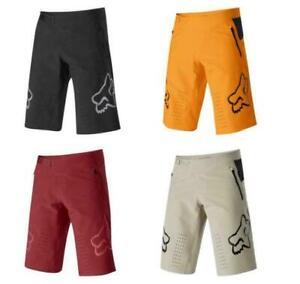 Men's Fox Racing Shorts MTB DH Mountain Bike Demo Shorts Spring 2021 UK