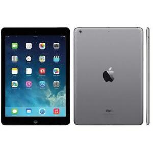 Apple iPad Air 1st Gen A1474   16GB   Wi-Fi   9.7 in Tablet - Space Gray iOS 12