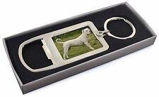 American Staffordshire Bull Terrier Dog Chrome Metal Bottle Opener K, AD-SBT9MBO
