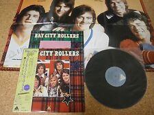 Bay City Rollers ~ Same Self Titled/ Japan LP/ OBI Sheet Poster