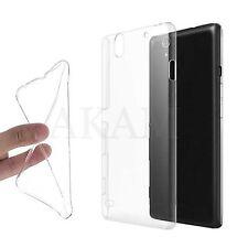 Soft Silicon Clear Gel Back Case Cover For Sony Xperia C4 E5303, E5306, E5353