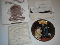 """Gone With The Wind 8"""" Collector Plate Tender Loving Care 1988 Limited Production"""