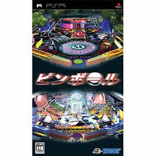Pinball  Portable  PSP Sony PlayStation JAPAN  Pinball