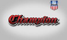 Champion Boats Bass Boat Graphic Sticker fishing fish vinyl Decal Logo 40001