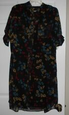 """Anne Klien size 8 button front dress """"Red Current Combo"""" Style:10620282-184 NWT"""