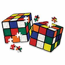 Original Rubik'S Cube 2 in 1 Impossible Jigsaw Puzzles Boxed