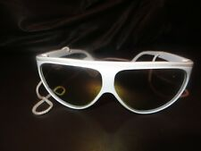 river island mens womens sunglasses brand new tags white frame filter 3 corded