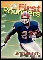 1997 FLEER ULTRA FIRST ROUNDERS ANTOWAIN SMITH RC #1 OF 12FR INSERT BILLS