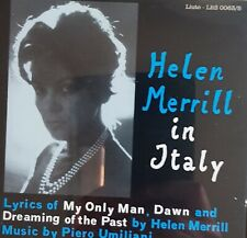 Helen Merrill in Italy. CD