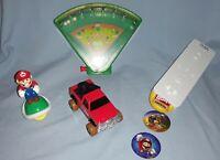 4 Wendys Nintendo WII Super Mario Toys-2006-WII Shooter-Pinball-Mario-Truck