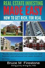 Real Estate Investing Made Easy : How to Get Rich, for Real (2014, Paperback)