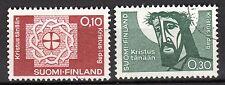 Finland - 1963 Lutherian congress  - Mi. 573-74 VFU