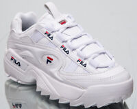 Fila D-Formation Women White Sneakers Chunky Casual Lifestyle Shoes 5CM00514-125