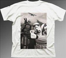StormTrooper Star Wars Darth Vader JEDI Selfie Australia Sydney  t-shirt 9773